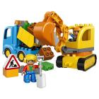 LEGO DUPLO Truck and Tracked Excavator (10812)