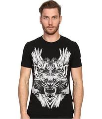 Just Cavalli Tiger/Kraken Graphic Short Sleeve Tee