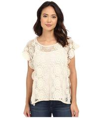 BCBGeneration Embrace the Lace High-Low Poncho
