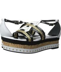 Just Cavalli Calf and Patent Leather with Rope and