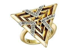 House of Harlow 1960 Vintage Muse Cocktail Ring