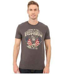 Lucky Brand Skull Eagle Graphic Tee