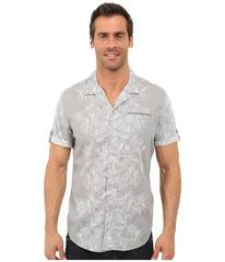 Calvin Klein Jeans Abstract Floral Camp Shirt