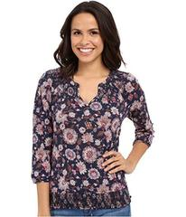 Lucky Brand Multi Floral Top