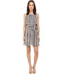 Kate Spade New York Island Stamp Chiffon Dress