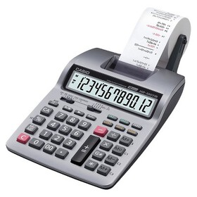 Casio Casio Printing Calculator - Silver (HR100TM)