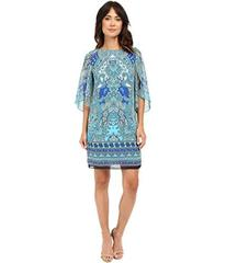 Christin Michaels Michelle Paisley Shift Dress