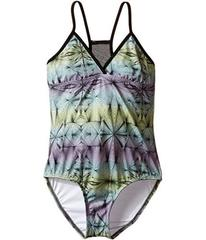 Hurley Fine Lines One-Piece (Big Kids)