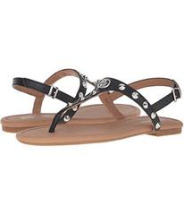 Armani Jeans Shiny Leather Sandal with Studs
