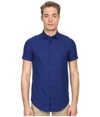 Armani Jeans Short Sleeve Slim Fit Woven