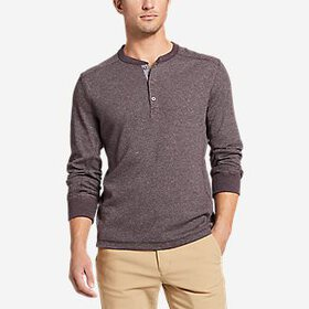 Men's Eddie's Favorite Thermal Henley Shir