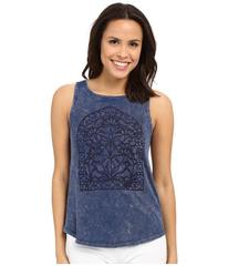 Lucky Brand Window Embroidery Tank Top