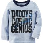 Long-Sleeve Cosmic Genius Graphic Tee