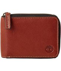 Timberland Cavalieri Leather Zip Around Wallet