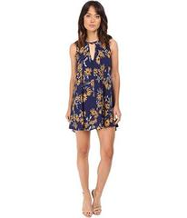Brigitte Bailey Uzma Sunflower Print Sleeveless Dr