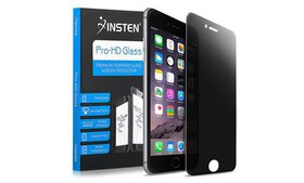 Insten Privacy Tempered Glass LCD Protector For iP