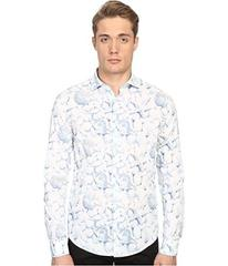 Armani Jeans All Over Printed Cotton Popeline