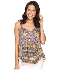 Lucky Brand Lace Trim Tank Top