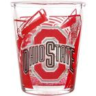 Ohio State Buckeyes 3D Wrap Color Collector Glass