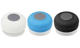 Bluetooth Waterproof Shower Speaker with Mic