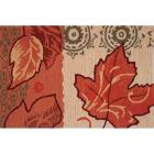 Homefires 22x34-Inch Golden Fall Leaves Accent Rug