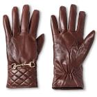 Women's Genuine Leather Tech Touch Glove - Merona&