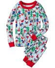 Kids Long John Pajamas In Organic Cotton