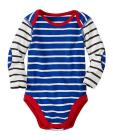 Baby Stripe Happy One Piece In Organic Cotton