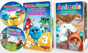 Rock 'N Learn Colors, Counting & More Board Book a