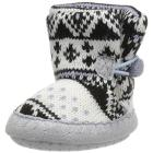 MUK LUKS Kids' All Over Snowflake Baby Slipper Sli