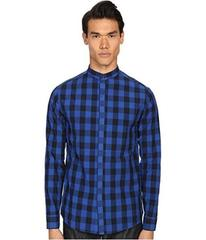 Pierre Balmain Plaid Button Up Shirt