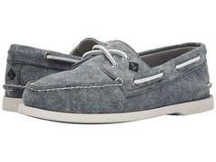 Sperry Top-Sider A/O 2-Eye White Cap Canvas