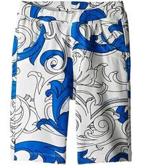 Versace Shorts with All Over Macrobarocco Print (T