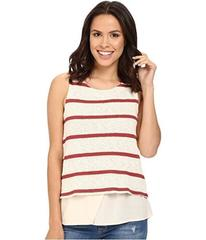 Splendid Tucson Striped Loose Knit Tank Top