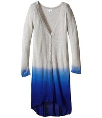 Splendid Littles Dip-Dye Knit Long Cardigan (Big K