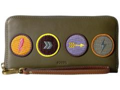 Fossil Emma Large Zip Clutch RFID