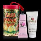 Rosewater Hand Care Ornament Tin