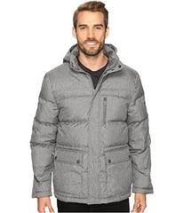 Kenneth Cole New York Crosshatch Micropoly Jacket