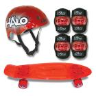 Halo 23 inch Skateboard Combo Pack with Multi-Spor