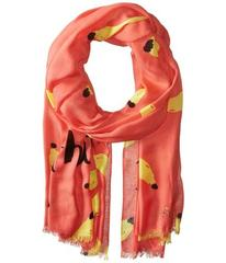 Kate Spade New York That's Bananas Oblong Scarf
