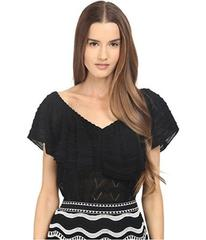 M Missoni Ruffle Top