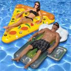 Swimline Beer and Pizza Pool Floats, Pack of 2