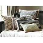 "Ribbon & Check Pillow - 15""H x 30""W"