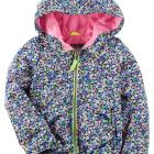 Fleece-Lined Floral Midweight Jacket