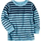 Long-Sleeve Striped Tee