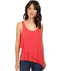Splendid Drapey Lux Layered Tank Top
