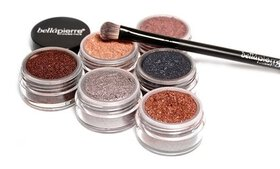 Bellapierre Cosmetics Eye Shadow and Brush Set (7-