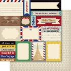 Bella! Travel Double-Sided 200gsm Cardstock 12&#34