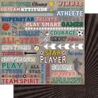 """Bella! Sport Double-Sided 200gsm Cardstock 12"""""""