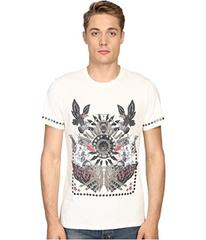 Just Cavalli Slim Fit Abstract Print Jersey T-Shir